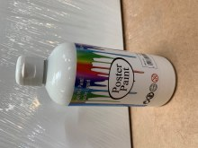 500ml Poster Paint White