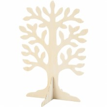 Wooden Tree Shape