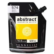 Abstract 500ml Primary Yellow