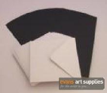 5x5 Black Card & Envelopes 50s
