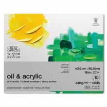 """W&N Oil & Acrylic Pad 16x20"""""""