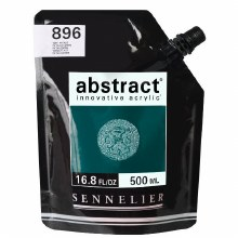 Abstract 500ml Phthalo Green