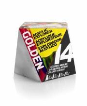Golden Acrylic Explorer Set - 14 products