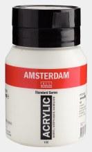 Amsterdam Acrylic 500ml Titanium White