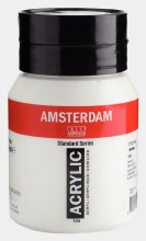Amsterdam Acrylic 500ml Zinc White