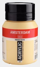Amsterdam Acrylic 500ml Naples Yellow Deep