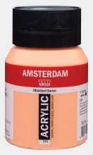 Amsterdam Acrylic 500ml Naples Yellow Red