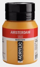 Amsterdam Acrylic 500ml Yellow Ochre