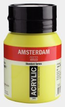 Amsterdam Acrylic 500ml Greenish Yellow