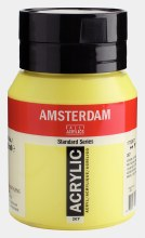 Amsterdam Acrylic 500ml Azo Yellow Lemon