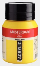 Amsterdam Acrylic 500ml Azo Yellow Light