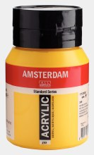 Amsterdam Acrylic 500ml Azo Yellow Medium