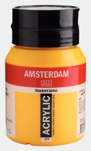 Amsterdam Acrylic 500ml Azo Yellow Deep