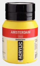 Amsterdam Acrylic 500ml Primary Yellow