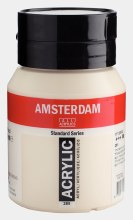 Amsterdam Acrylic 500ml Titanium Buff Light