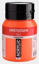 Amsterdam Acrylic 500ml Vermilion