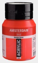 Amsterdam Acrylic 500ml Pyrrole Red