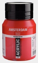 Amsterdam Acrylic 500ml Carmine