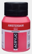 Amsterdam Acrylic 500ml Permanent Red Purple