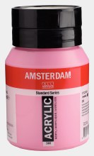 Amsterdam Acrylic 500ml Quinacridone Rose Light
