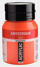 Amsterdam Acrylic 500ml Naphtol Red Light