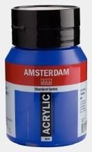 Amsterdam Acrylic 500ml Ultramarine