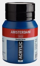 Amsterdam Acrylic 500ml Greenish Blue