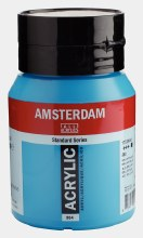 Amsterdam Acrylic 500ml Brilliant Blue