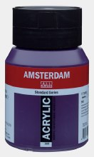 Amsterdam Acrylic 500ml Permanent Blue Violet