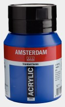 Amsterdam Acrylic 500ml Phthalo Blue