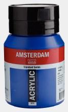 Amsterdam Acrylic 500ml Phthalo Blue