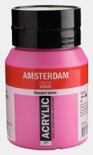Amsterdam Acrylic 500ml Permanent Red Violet Light