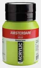 Amsterdam Acrylic 500ml Yellowish Green