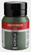 Amsterdam Acrylic 500ml Olive Green Deep