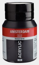 Amsterdam Acrylic 500ml Lamp Black