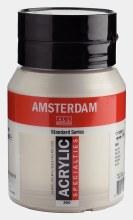 Amsterdam Acrylic 500ml Silver