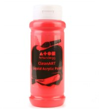 Brian Clegg 500ml Acrylic Brilliant Red