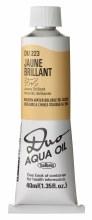 Holbein DUO Aqua Oil 40ml - Jaune Brilliant 223
