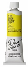 Holbein DUO Aqua Oil 40ml - Lemon Yellow 228