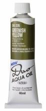 Holbein DUO Aqua Oil 40ml - Greenish Yellow 235