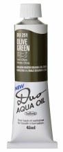 Holbein DUO Aqua Oil 40ml - Olive Green 251