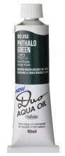 Holbein DUO Aqua Oil 40ml - Phthalo Green 252
