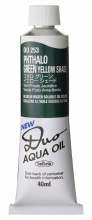 Holbein DUO Aqua Oil 40ml - Phthalo Green Y/S 253