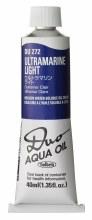 Holbein DUO Aqua Oil 40ml - Ultramarine Light 272