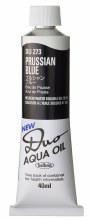 Holbein DUO Aqua Oil 40ml - Prussian Blue 273