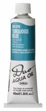 Holbein DUO Aqua Oil 40ml - Turquoise Blue 276