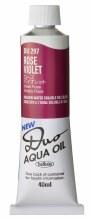 Holbein DUO Aqua Oil 40ml - Rose Violet 297