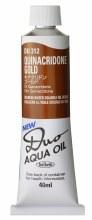 Holbein DUO Aqua Oil 40ml - Quinacridone Gold 312
