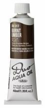 Holbein DUO Aqua Oil 40ml - Burnt Umber 317