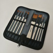 Evans Synthetic Brush Wallet